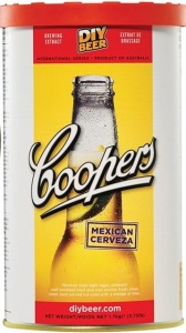 COOPERS MEXICAN CERVEZA brewkit  na 23L