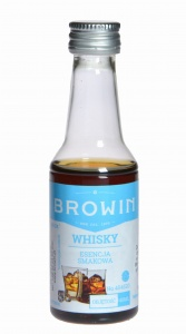 Zaprawka do alkoholu  BROWIN WHISKY 40ml