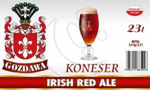 GOZDAWA KONESER IRISH RED ALE 23L 3,4kg