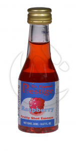 Zaprawka  do alkoholu PRESTIGE RASPBERRY FRUITY SHOT malina 20ml