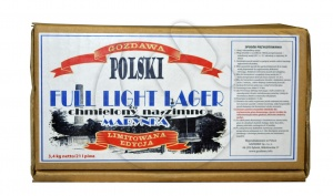 GOZDAWA FULL LIGHT LAGER 3,4kg słodu