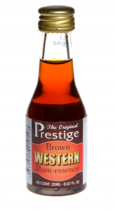 Zaprawka do alkoholu PRESTIGE BROWN WESTERN RUM 20ml