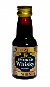 Zaprawka do alkoholu STRANDS  SMOKED SCOTCH WHISKY BLACK 25ml