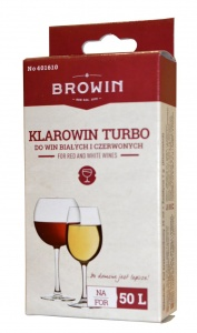 Biowin KLAROWIN TURBO 75g klar do wina na 50l