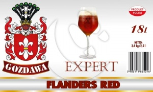 Brewkit GOZDAWA EXPERT FLADERS RED 18L 3,4kg