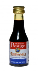 Zaprawka do alkoholu PRESTIGE AMBROSIA FRENCH BRANDY 20ml